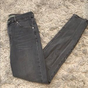 Gray topshop Jaime jeans